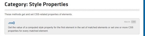 jquery-style-properties